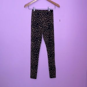 *PrettyLittleThing* Leopard Printed Tights BRAND NEW SIZE 6